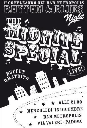 flyer Midnite Special al Bar Metropolis