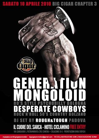 flyer Big Cigar #3 al Ciclamino