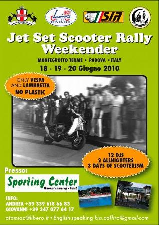 flyer Jet Set Scooter Rally Weekender