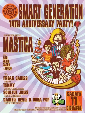 flyer Smart Generation Anniversary al Pop Corn
