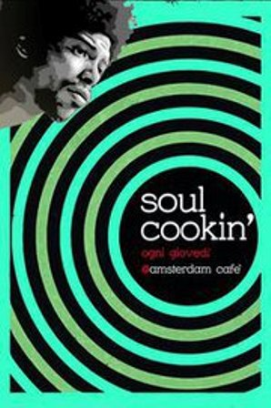 flyer Soul Cookin' all'Amsterdam Café