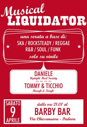 Musical Liquidator al Barby Bar