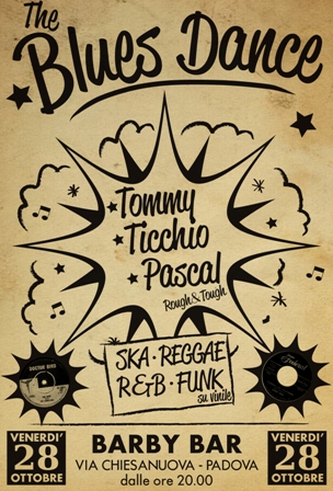 serata d'ascolto ska, reggae, r&b, funk al Barby Bar di Padova