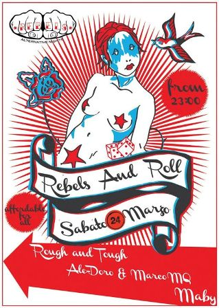 flyer dj-set @ Rebels And Roll - Eclipses The Flow