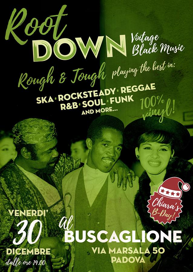 black thang, serata ska reggae soul r&b, 30 dicembre a Padova