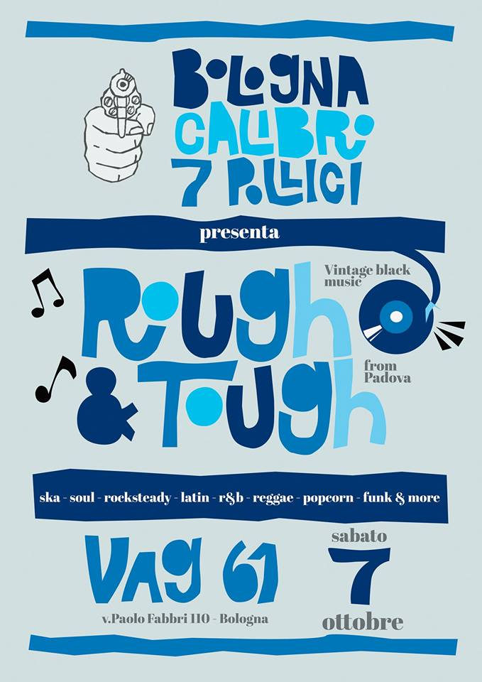 Rough&Tough Vag61 Bologna Calibro 7 Pollici