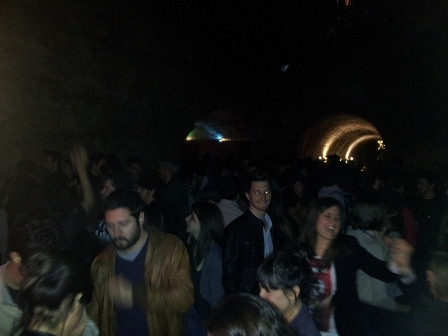 foto dj-set Rough&Tough ai Bastioni Santa Croce di Padova 2