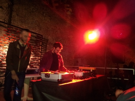 foto dj-set Rough&Tough ai Bastioni Santa Croce di Padova 4