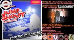 sabato 5 settembre 2009: Jump & Shout Allnighter @ Dancing Miralago, Fimon (VI)