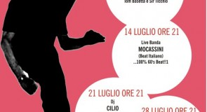 giovedì 7 luglio 2011: Ticchio & Tommy djing @ Vespa Night Show, Lonigo (VI)