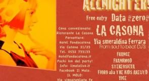 domenica 8 aprile 2012: Ticchio djing @ Allnighter – Il Molo, Ferrara