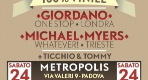sabato 24 novembre 2012: Rough&Tough @ Metropolis, Padova