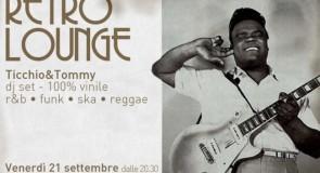 venerdì 21 settembre 2012: Retro Lounge @ Osteria Barabba, Padova