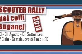 venerdì 30 agosto 2013: Scooter Rally @ 7° Cielo, Torreglia (Padova)