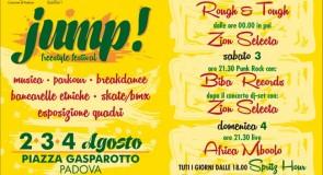 venerdì 2 agosto 2013: Jump! Freestyle Festival @ Piazza Gasparotto, Padova