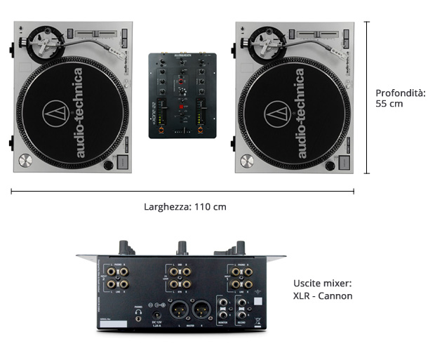 Consolle DJ-Set Rough&Tough - Scheda tecnica