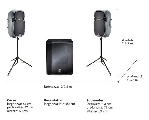 Impianto sound system Rough & Tough Padova