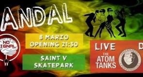sabato 8 marzo 2014: Skandal @ Saint V Skatepark, Padova