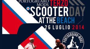 sabato 26 luglio 2014: Scooter Day At The Beach @ Caorle, Venezia