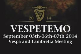 venerdì 5 settembre 2014: Vespetemo 2014 @ Greenwhich Pub – Curtarolo, Padova