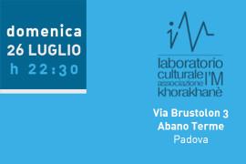 domenica 26 luglio 2015: dj-set @ I'M Lab, Abano Terme (Padova)
