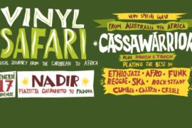 venerdì 17 novembre 2017: Vinyl Safari @ Nadir, Padova