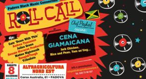 sabato 8 dicembre 2018: Roll Call – Padova Black Music Connection @ Altragricoltura Nord Est, Padova
