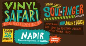 sabato 26 ottobre 2019: Vinyl Safari @ Nadir, Padova
