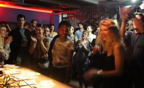 foto e video Vinyl Safari w/ Soul Finger @ circolo Nadir, Padova (26-10-2019)