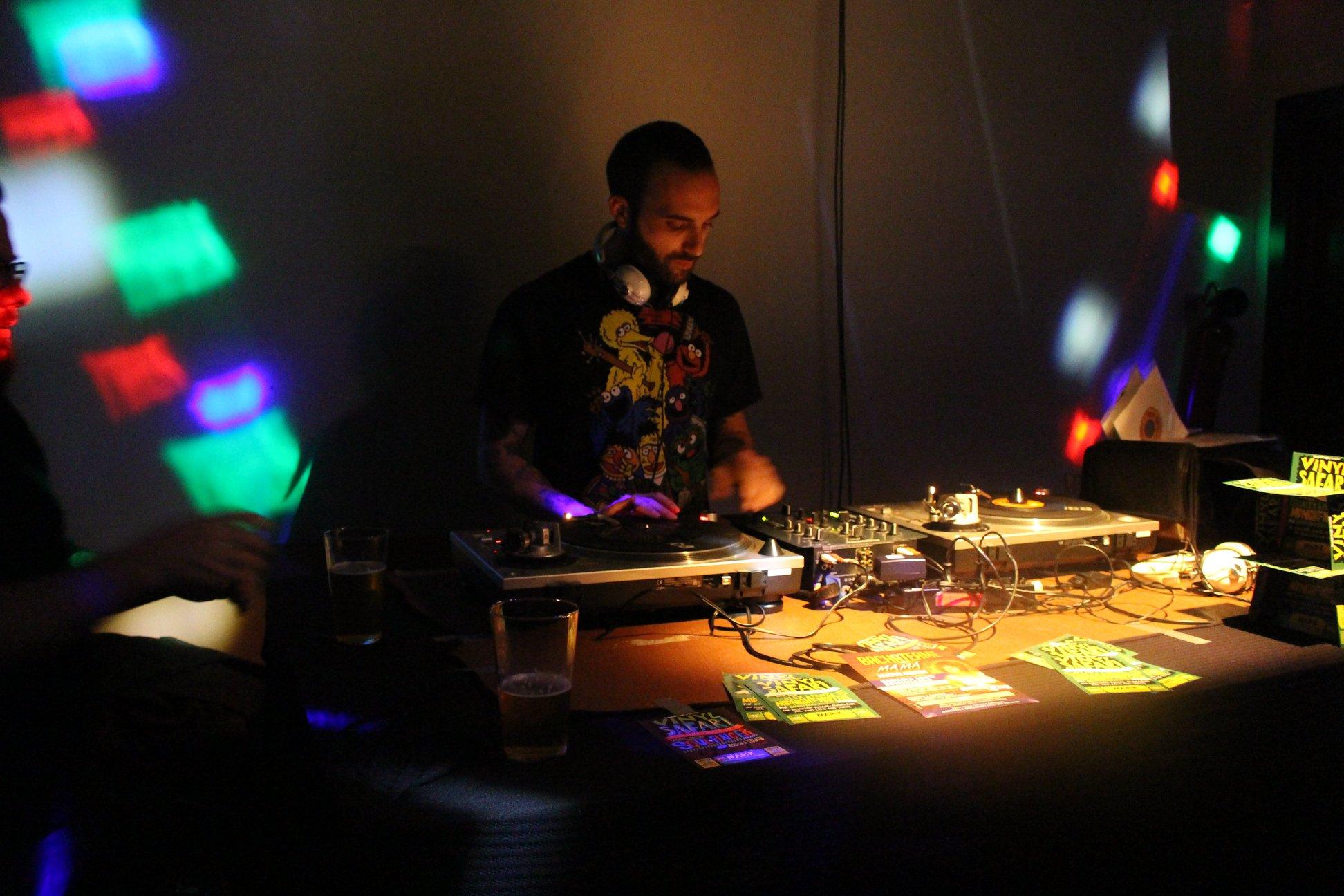 foto Vinyl Safari w/ Soul Finger @ circolo Nadir, Padova (26-10-2019)