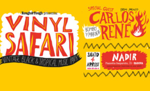 Sabato 4 aprile 2020: Vinyl Safari @ Circolo Nadir, Padova.