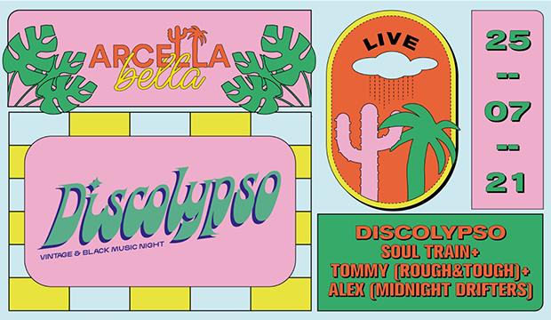 domenica 25 luglio 2021: dj-set @ Discolypso, Arcella Bella (Padova)