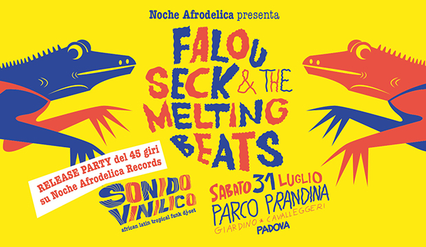 sabato 31 luglio 2021: Noche Afrodelica @ Parco Prandina, Padova